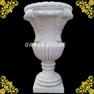 Nice Carved Marble Planter for Home Decoration pictures & photos