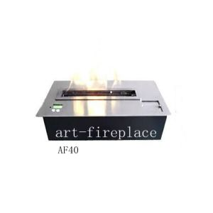 Modern Design Auto Bioethanol Fireplace Af40 with Remote Controller