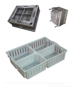 Four Grid Crate Mould (NGA9) pictures & photos