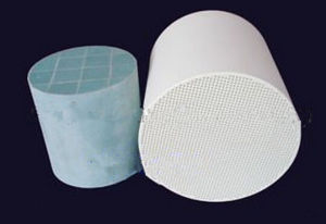 Honeycomb Ceramic DPF Diesel Particulate Filter for Engines Exhaust pictures & photos