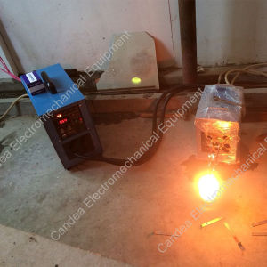 High Frequency Induction Melting Furnace for 1kg Gold Silver Smelting