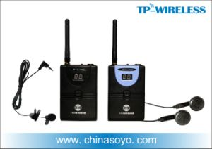 Dry Battery Powered Portable Wireless Transmitters (Microphones) and Receivers (Earphones) for Tour Guide System or Silent Classrooms pictures & photos