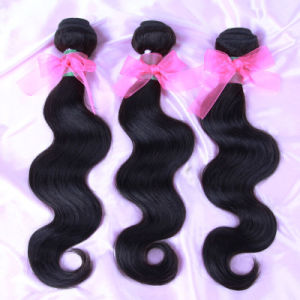 100% Virgin Brazilian Hair Extensions Body Wave Unprocessed Hair Weave (HW-025) pictures & photos