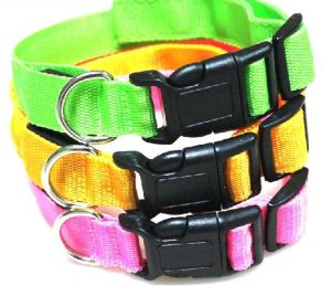 LED Polyster Pet Dog Collar (LC1001)