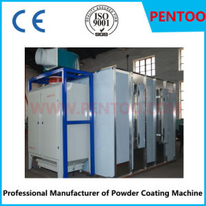 Manual Powder Spray Booth in Coating Production Line pictures & photos