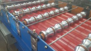 Metal Roof Panel Glazed Tiles Roll Forming Machine Automatic Rollformers pictures & photos