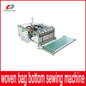 New Arrivals Automatic Plastic PP Woven Bag Bottom Stitching Machine pictures & photos