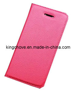 Fashion and Best Selling Leather for iPhone 5 Case (KCI02-2)
