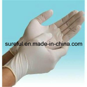 Powdered Free PVC Glove for Food Service pictures & photos