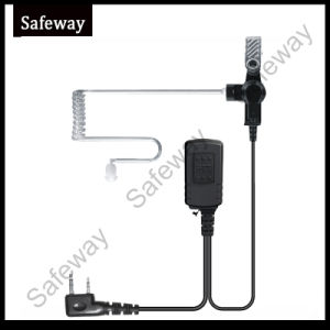 Waterproof Two Way Radio Air Tube Earphone for Kenwood pictures & photos
