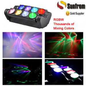 8X10W Spide RGBW Beam LED Moving Head Disco Light pictures & photos