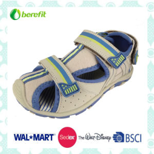 PU Upper and TPR Sole, Children′s Sandals pictures & photos