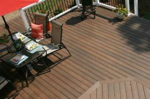 Good Quality Solid / Hollow Composite Decking