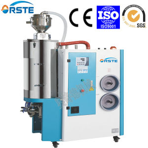 Plastic Drying Machinery Dehumidifying Feeding Loading Mixing Dryer