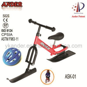 CE Certification Snow Ski Bike with Helmet for Children (ASK-01)