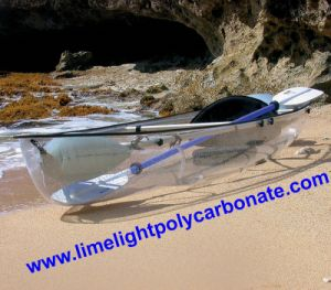 Transparent Kayak, Transparent Polycarbonate Kayak, Transparent PC Kayak, Clear Kayak, Clear PC Kayak, Clear Polycarbonate Kayak, Water Sport Kayak, Tour Kayak