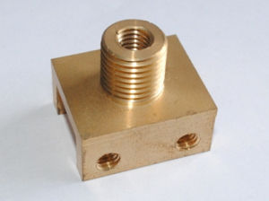High Accuracy Brass Turning Parts pictures & photos