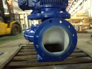 Electrical Vertical Single Stage Single Suction Water Pump Flow: 5.5m3/H Head: 28m pictures & photos