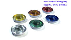 Glass Cat Eye Road Stud with Round Top pictures & photos
