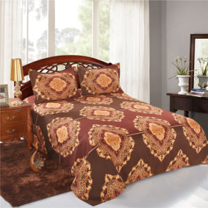Bohemian Style Mandala Microfiber Fabric Bed Linen Bedding Set pictures & photos