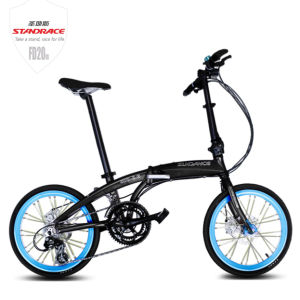 20 Inch Commuter Folding Bicycle with Shimano 8speed