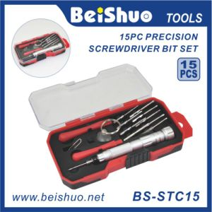 15 PCS Multi Function Screwdriver and Bit Set
