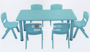 Kids Furniture Preschool Kids Table and Chairs Sets for Study pictures & photos