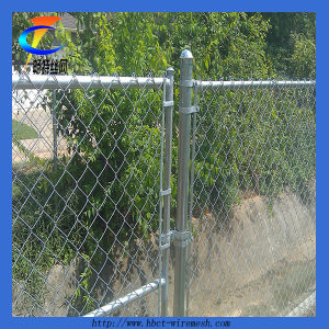 Galvanized Diamond Chain Link Fence (CT-5) pictures & photos