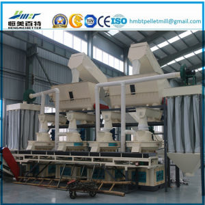 1.5t Die Vertical Dobule Sizes Grass Wood Sawdust Alfalfa Bamboo Pellet Mill Plant Machinery Price
