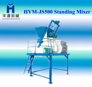 Hy-Js500 Concrete Mixer Used in Concrete Block Making Machine