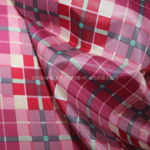 100% Polyester Printed Taffeta Fabric for Garment pictures & photos