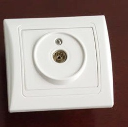 SGS ABS Cross Wall Switch 7007 pictures & photos