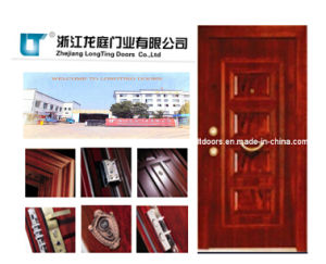 Turkish Armored Door Manufacture in China pictures & photos