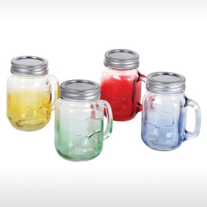 Glass Mason Jar for Drinking pictures & photos