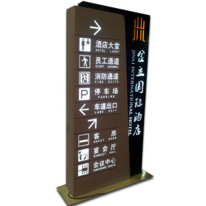 Indoor Way Finding Hotel Directional Sign pictures & photos