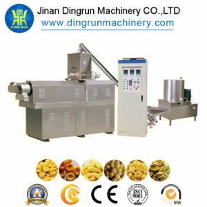 Stainless Steel Corn Chips Puff Snack Extruder Machine, High Quality Puff Snack Extruder Machine