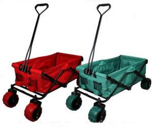 34e4afb9e71b Sports Collasible Folding Trolley Cart with Wide Wheel Folding Wagon