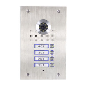 4 Wires Video Intercom Villa System (Outdoor station PL591BC4(4)) pictures & photos