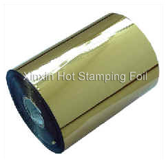 Hot Stamping Foil for Matt Gold pictures & photos