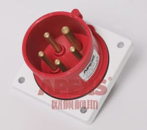 IP44 Industrial Plug (Panel Mounted)