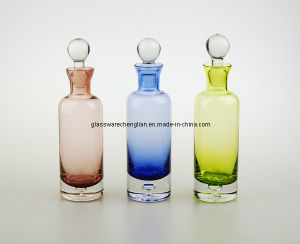 Solid Color Glass Bottle (V02-012) pictures & photos