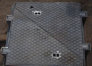 Rectangle Ductile Iron Casting Manhole Cover with Frame with BV pictures & photos