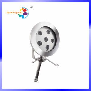 9W Stainless Steel IP68 LED Underwater Light Uhderwater Lamp pictures & photos