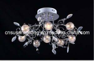 Contemporary LED Glass Ceiling Lamp (MX9209/8)