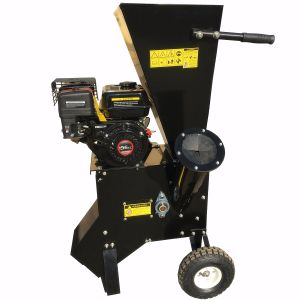 Professional Electric Wood Chipper Mobile Garden Waste Shredder With Accessories