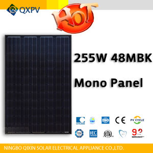 48V 255W Black Mono Solar Panel pictures & photos