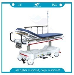 Weighing System Hydraulic Ambulance Stretcher (AG-HS006) pictures & photos