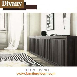 Divany Wood Veneer TV-Cabinet Sm-W11 pictures & photos