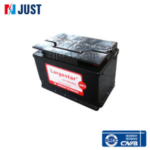 DIN75 12V75ah Qualified 12volt Germany Standard Bus Battery pictures & photos