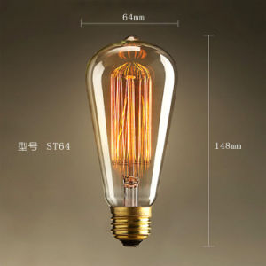 Popular Vintage Style E26 B22 E27 St64 Edison Bulbs 40W pictures & photos